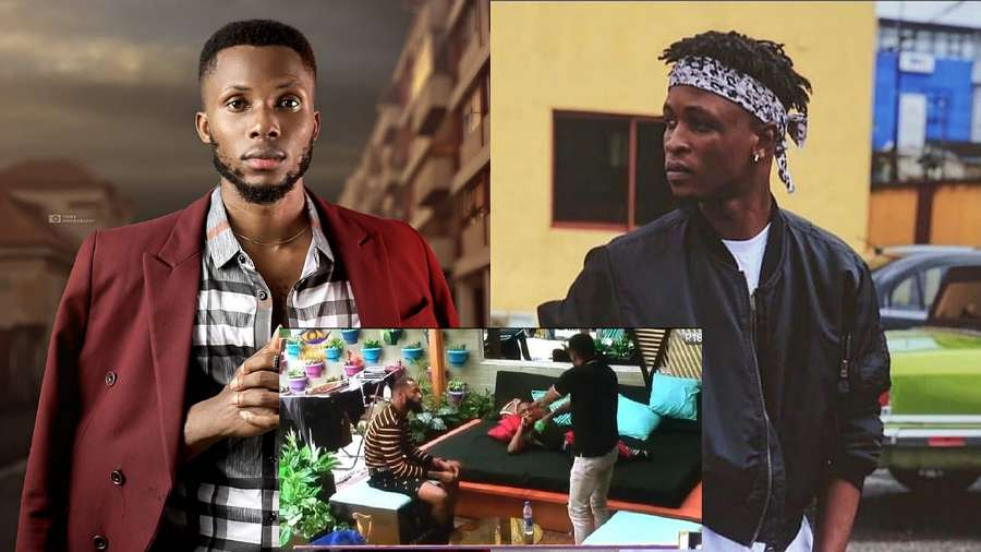 BBNaija: 'When you see her standing, hold her waist from behind' – Brighto advises Laycon on how to get Erica