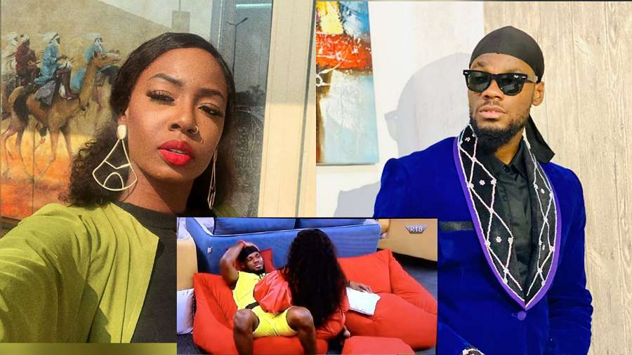 BBNaija: Prince outrightly rejects a move by Tolanibaj, says he doesn't want to do anything with her