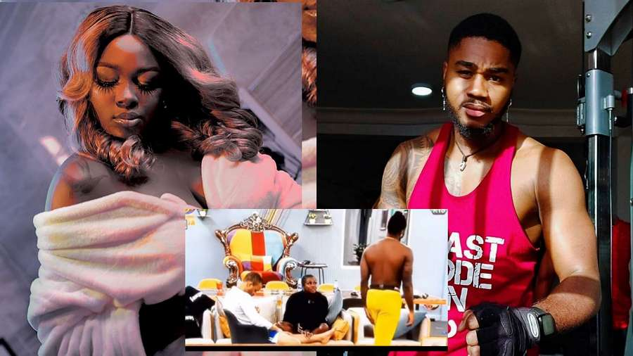 BBNaija: Praise refuses attempt from Ka3na to lure him into going under duvet again