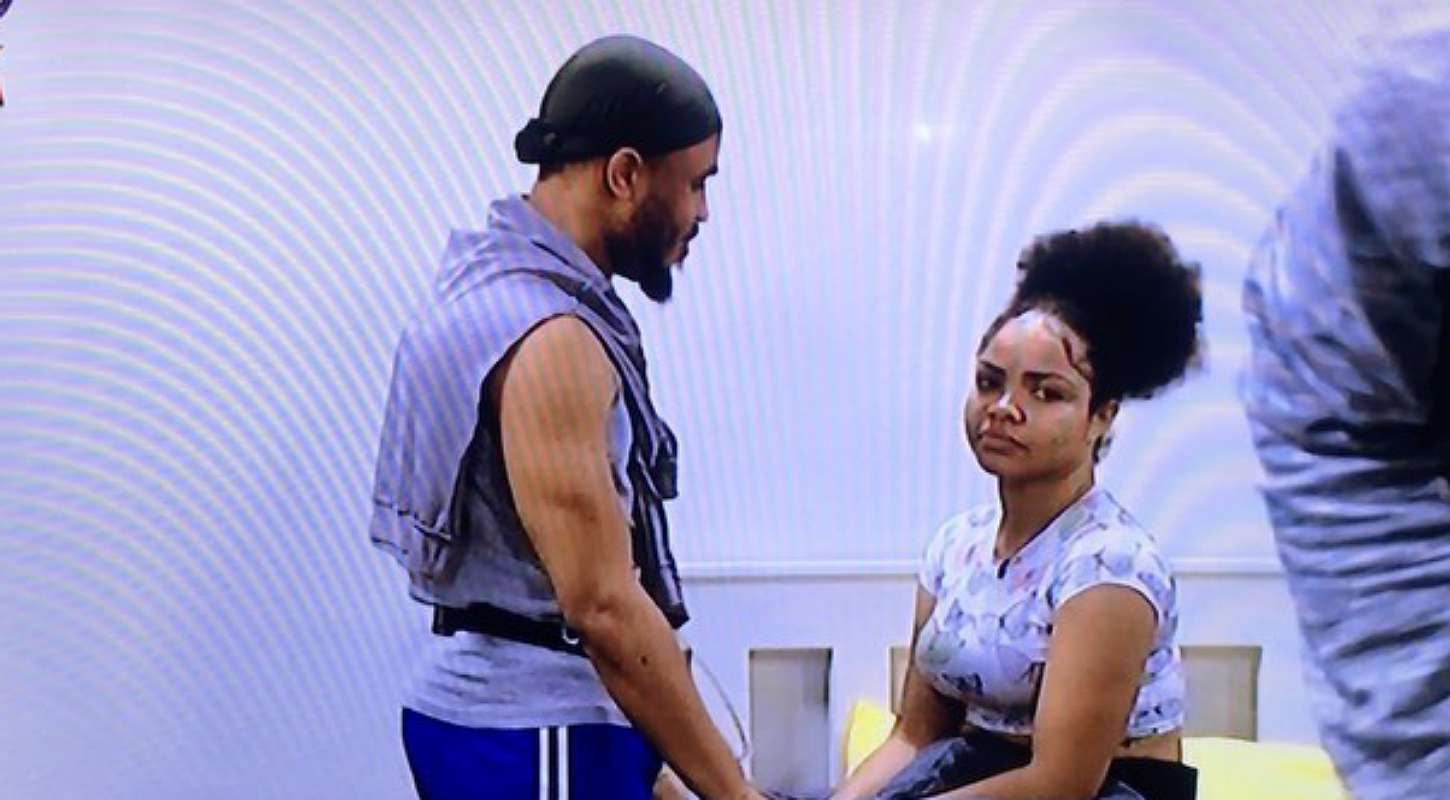 BBNaija: Ozo seen apologizing to Nengi for not picking her as Deputy Head of House