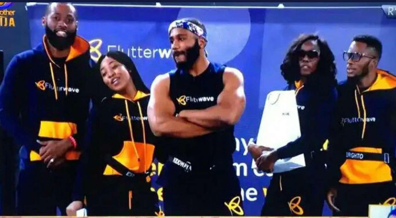 BBNaija: Team K.E.B.T. comprising Erica, Kiddwaya, Tochi, Brighto, Tolanibaj win Flutterwave Store Challenge