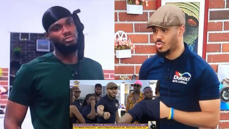BBNaija: Ozo couldn't hold his peace as he descends on Prince (video)
