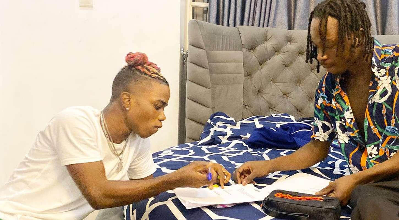 Naira Marley signs singer Lyta into Marlian Music
