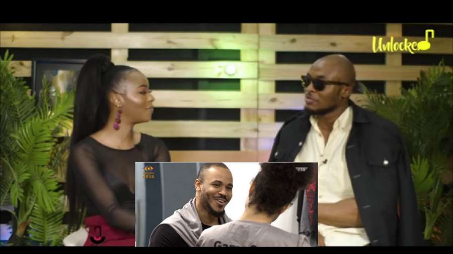 BBNaija: Eric confirms Ozo and Nengi took showers together