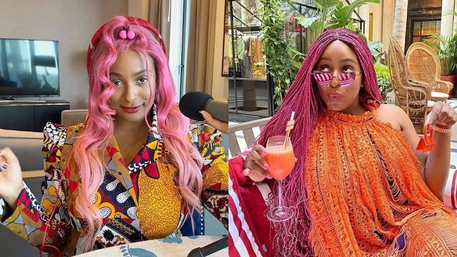 Dj Cuppy's ex wants her back after hearing 'Jollof On The Jet' playing at airport