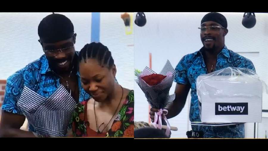 Neo finally surprises Vee with roses on her birthday (video)