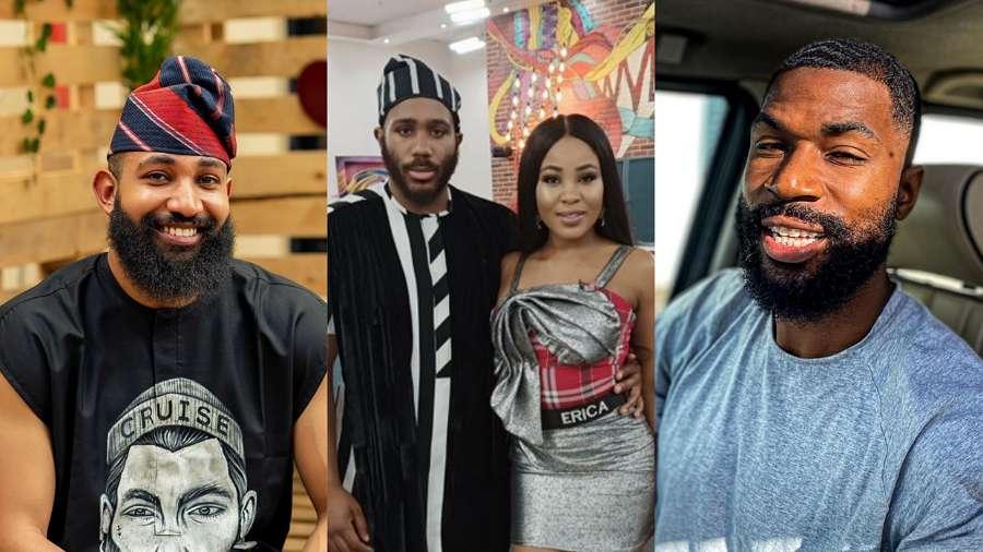 BBNaija: Pepper Dem stars Mike, Jeff root for Lockdown Housemates Kiddwaya and Erica