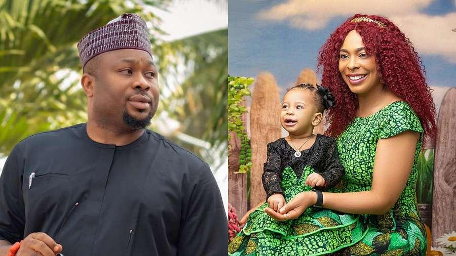 Tonto Dikeh's ex-husband Churchill comments on paternity of BBNaija TBoss' child linked to him