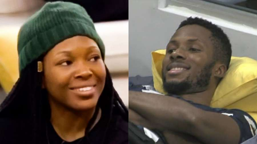 BBNaija: Vee tells Brighto she dreamt about him marrying Kaisha, he reacts (video)