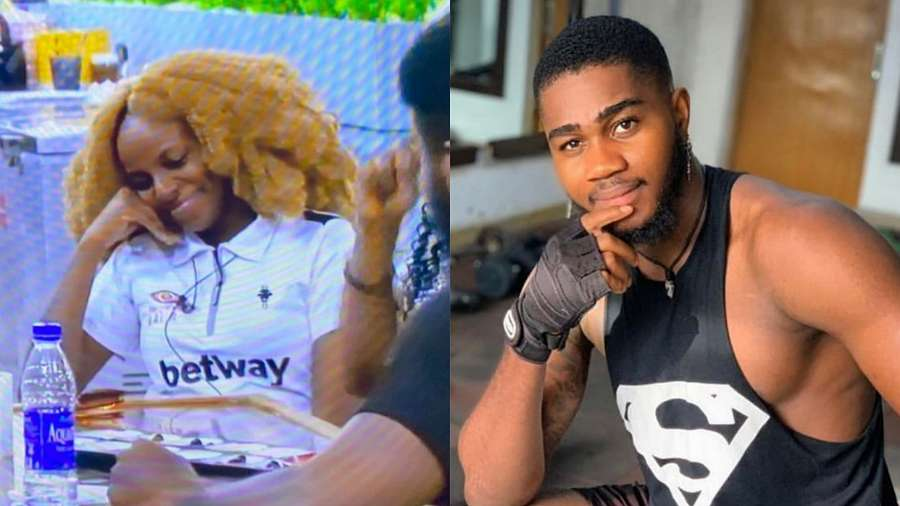BBNaija: Praise wants a date with Wathoni, seeks for advice
