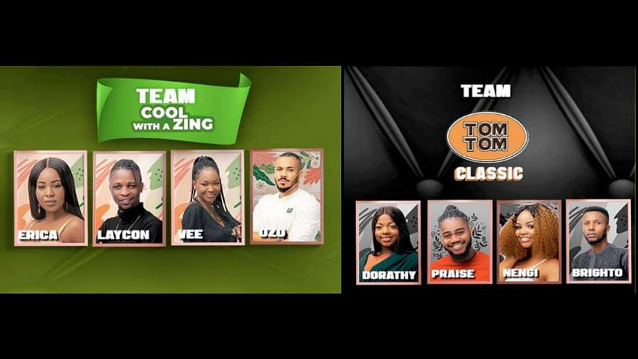 BBNaija: Erica's Team Cool With A Zing and Nengi's Team Classic win N1m in Tom Tom Challenge