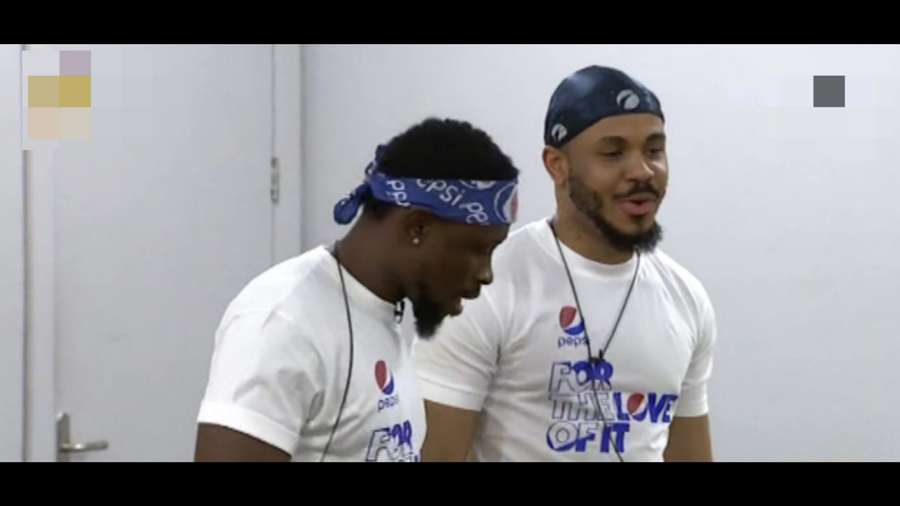 BBNaija: Ozo and Trikytee of Team Tekno win N1m each in Pepsi Turn Up Task
