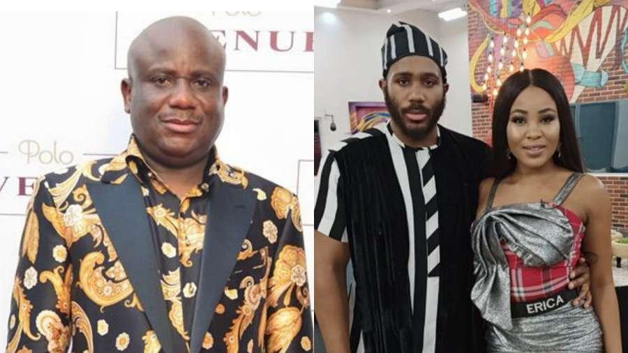 BBNaija: Kiddwaya's dad Terry Waya endorses his son and Erica's relationship