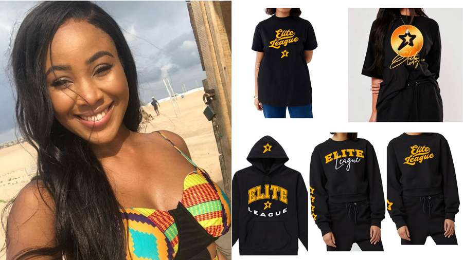 BBNaija: Erica's 'Elite League Merch' sold out in less than 5 hours