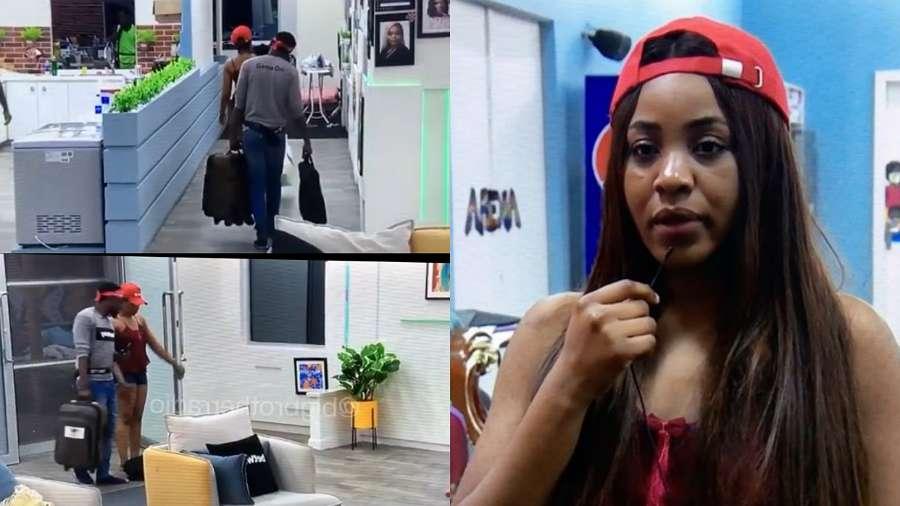 BBNaija: Erica packs her bags voluntarily ready to leave Biggie's House