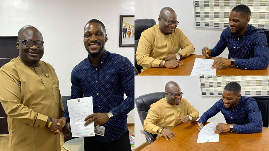 BBNaija: Tobi Bakre signs deal with Lagos State government