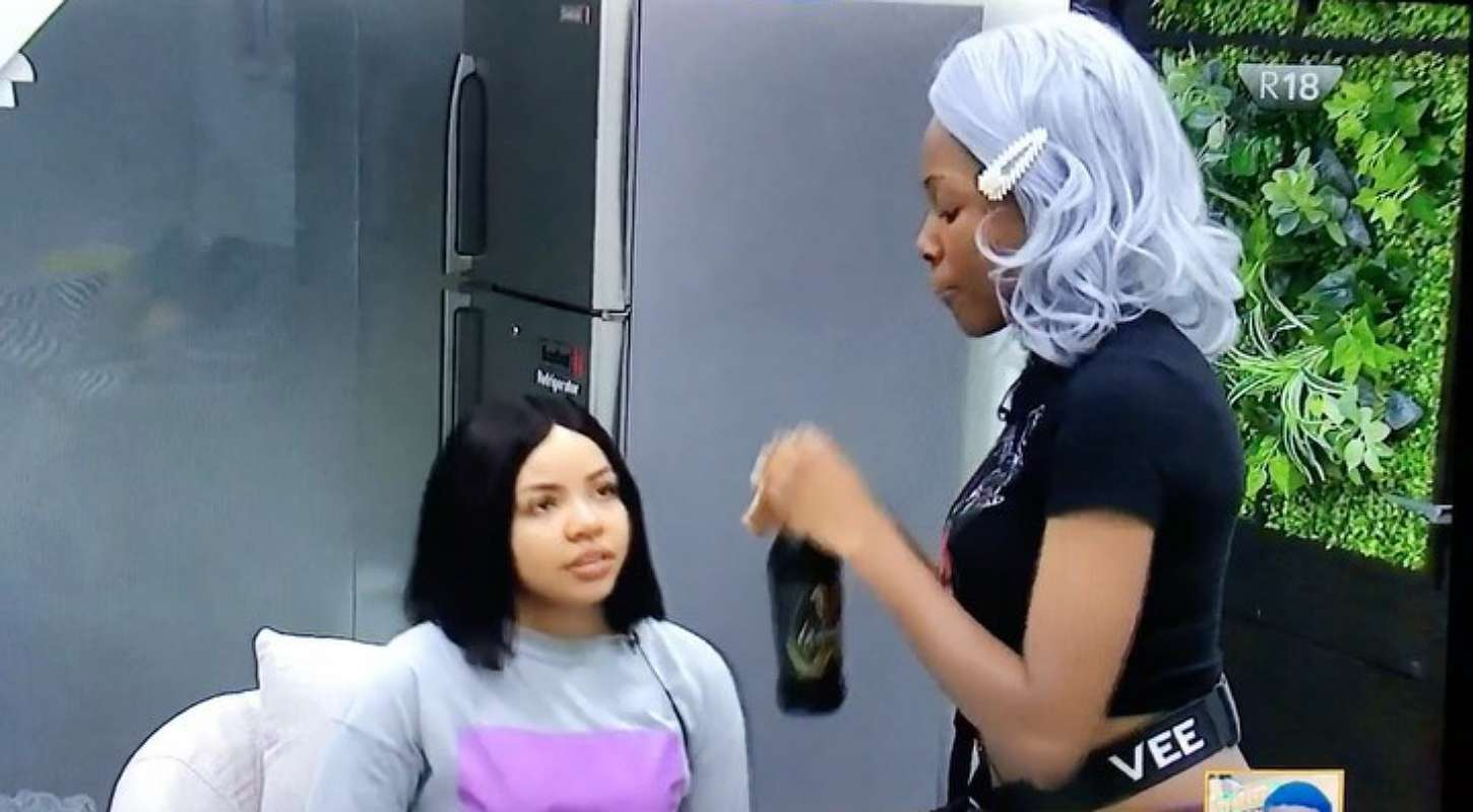 BBNaija: Vee lashes out at Nengi for making them loose out on Task