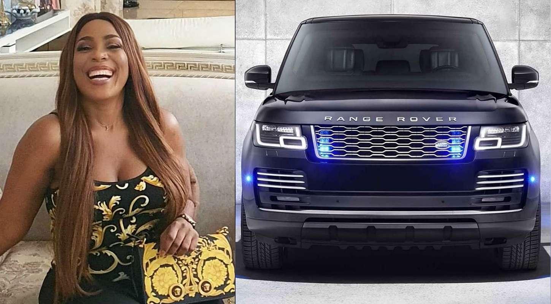 Linda Ikeji gifts herself 2020 Range Rover on her 40th birthday