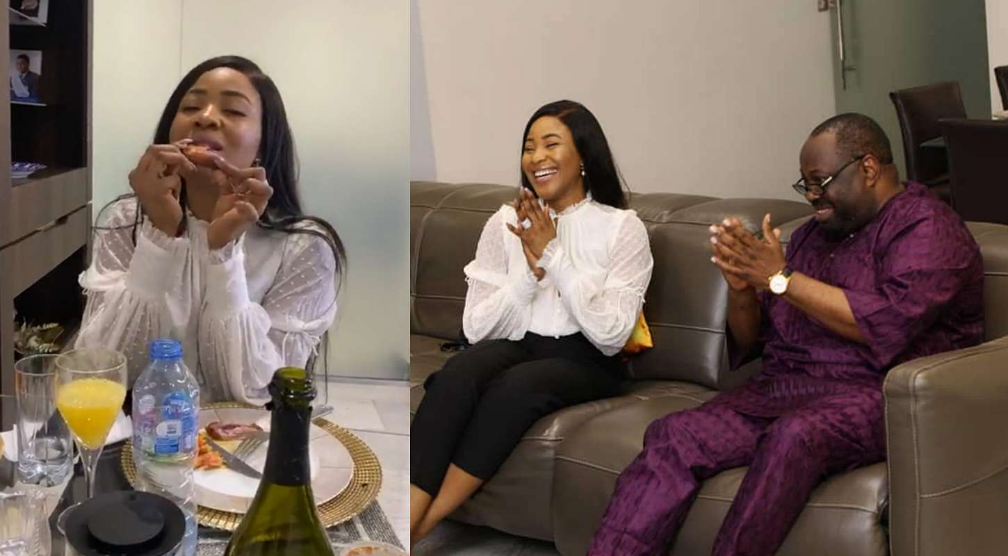 BBNaija: Erica dines with media mogul, Dele Momodu, shares post-disqualification experience