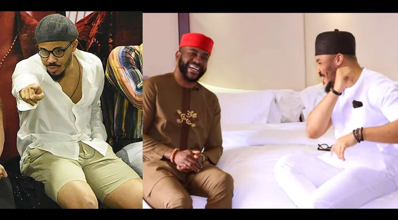 BBNaija: Ozo tells Ebuka why he prefers wearing Du-rags and Shorts