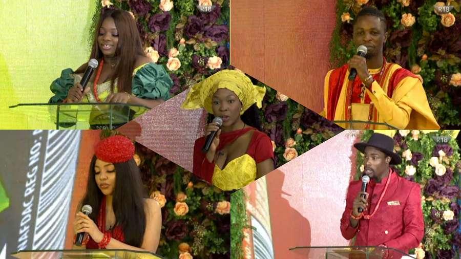 BBNaija: Five finalists, Laycon, Dorathy, Nengi, Vee, Neo win N1m each in Lipton Ice Tea task