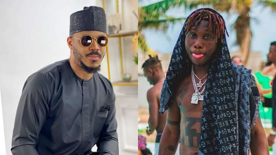 BBNaija: Rapper Zlatan shades Ozo in a song, calls him 'mumu who follows Nengi around' (video)