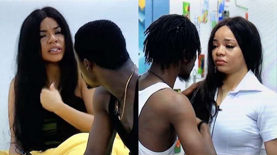BBNaija: 'Ozo and some ex-housemates ignored me at the party' – Nengi breaks down in tears (video)