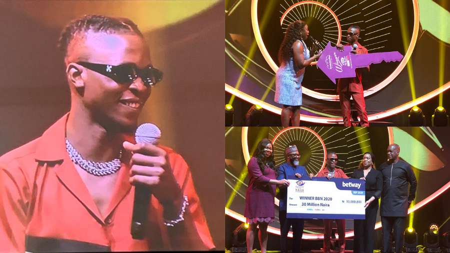 List of prizes won by BBNaija season 5 winner, Laycon