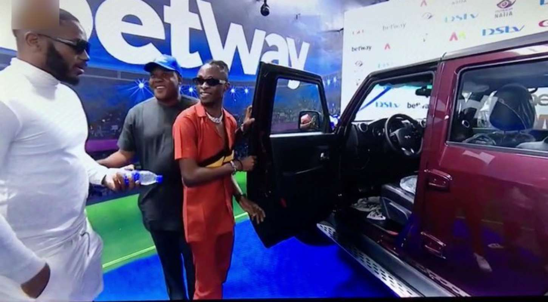 BBNaija: Laycon finally receives Innoson G40 SUV, other prizes