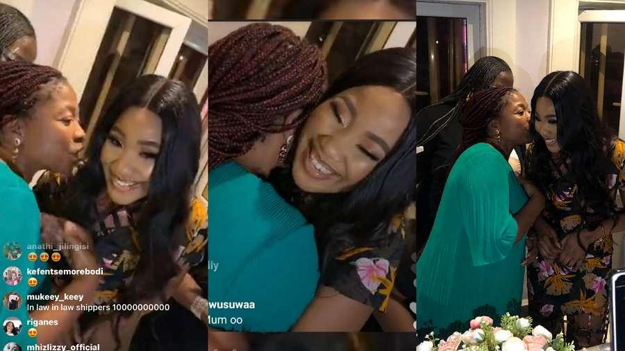 BBNaija: Breathtaking moment Kiddwaya's mom met Erica, approves their relationship (video)