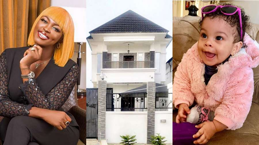 BBNaija: Ka3na acquires new mansion for herself, daughter