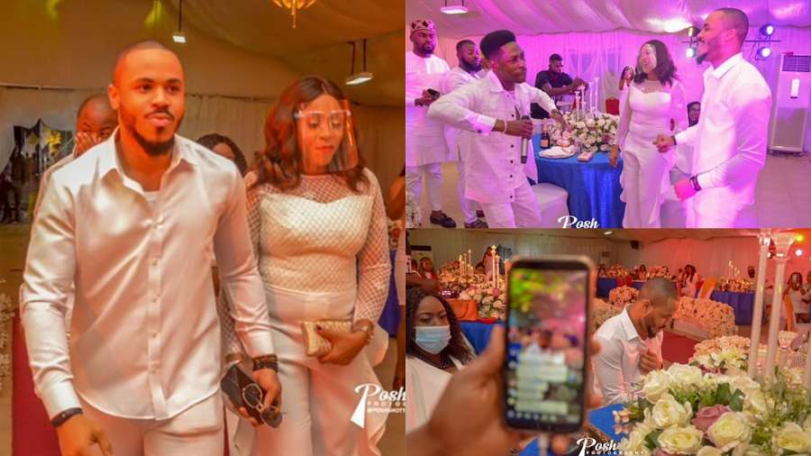 BBNaija: Other night with Ozo and mom in Abuja (photos)