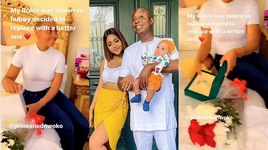 Regina Daniels' husband Ned gifts her most expensive birthday present