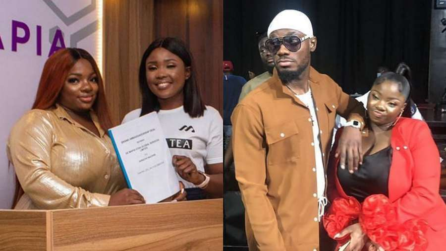 BBNaija star Prince sent congratulatory note to his bestie Dorathy on her latest deal