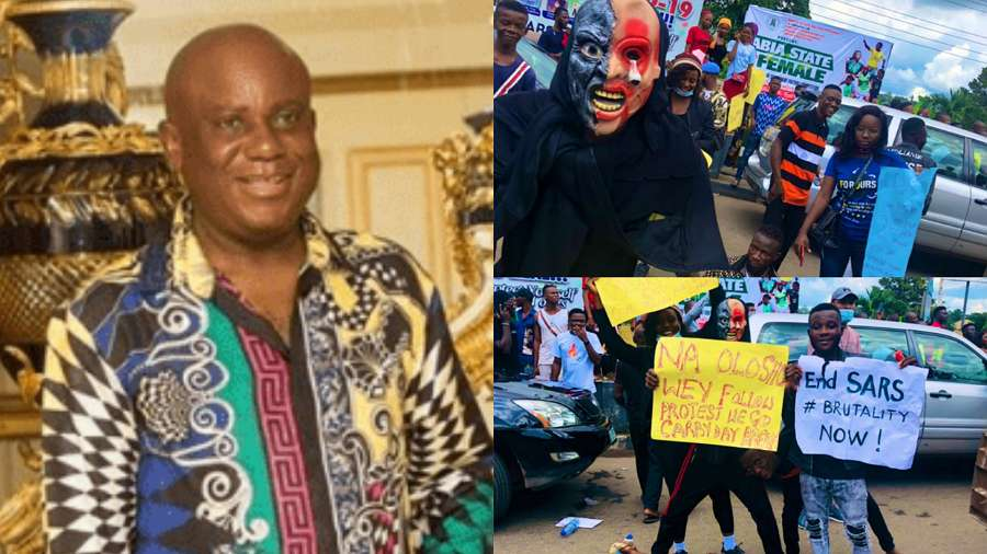 Nigerians attack BBNaija Kiddwaya's dad, Terry Waya after he called for an end to #EndSARS protest