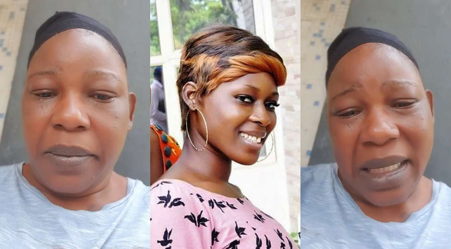 Actress Ada Ameh in tears, asks government to allow her travel to bury her late daughter (video)