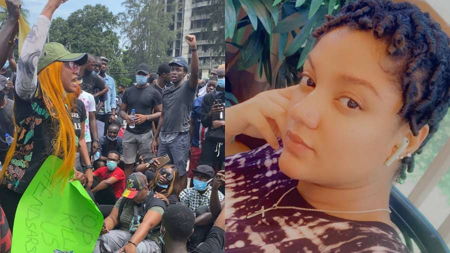 #EndSARS: BBNaija star Gifty blames protesters on lost lives