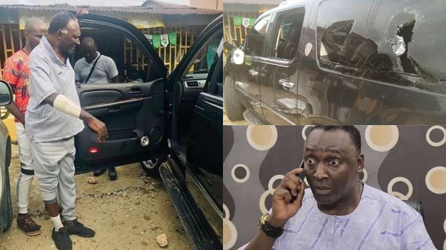 Hoodlums attack actor Clem Ohameze, made away with his belongings