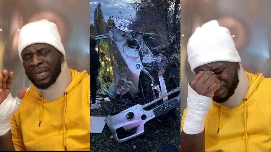 Car Accident: Comedian Craze Clown narrates his ordeal