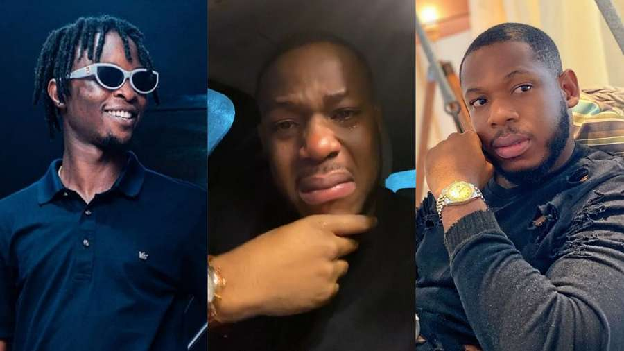 BBNaija star Frodd breaks down in tears as he expresses what he noticed about Laycon (video)