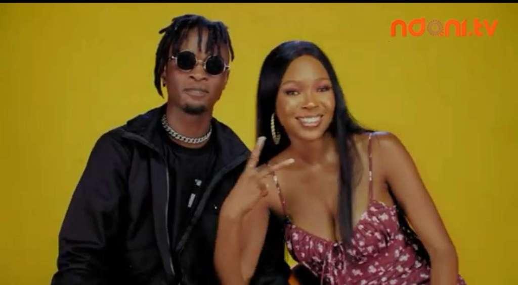 Watch fun moment BBNaija's Laycon and Vee drank to stupor at Ndani TGIF Show